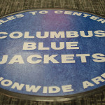 Columbus Blue Jackets floor mat