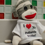 I love my Pediatric Dentist sock monkey
