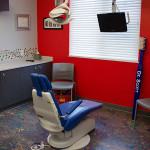 Dr. Scotts red dental room